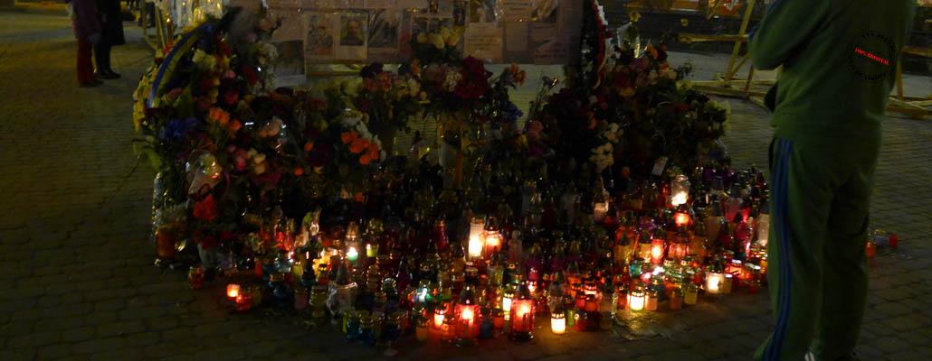 Gedenkstelle für die Opfer der Revolution