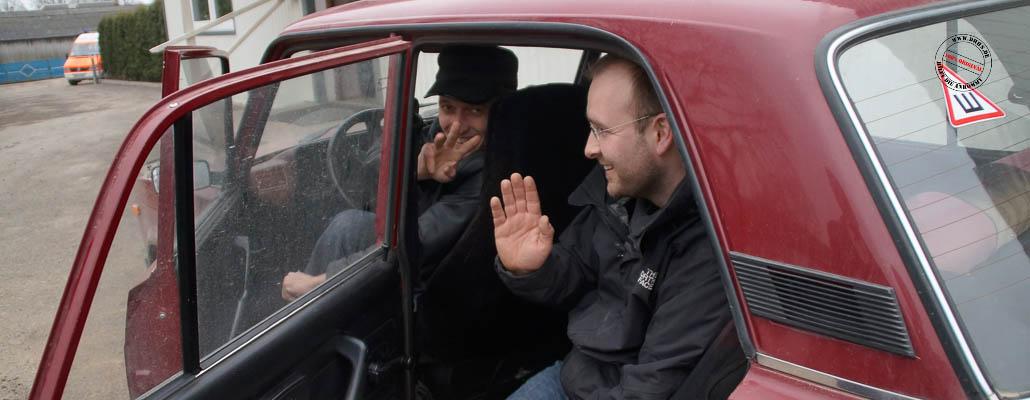 Er berichtete uns von seinen Erlebnissen auf dem Maidan.