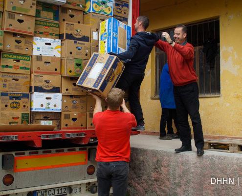 DHHN Hilfstransport nach Albanien