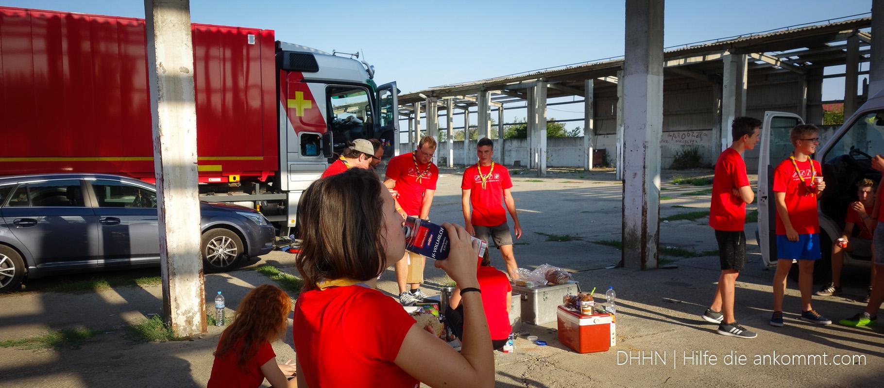 2017 09 Baueinsatz und Hilfstransport Rumänien - DHHN