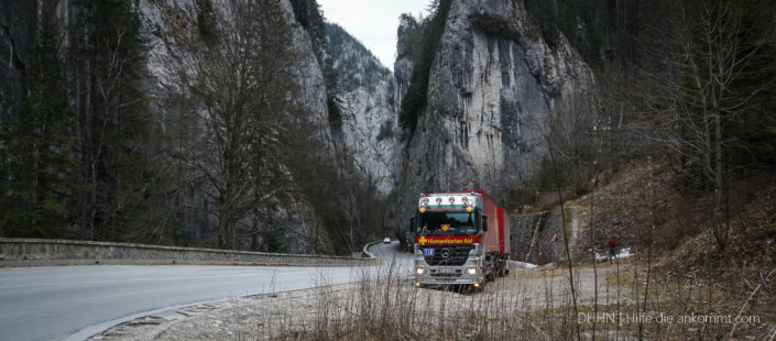 Hilfstransport Moldawien